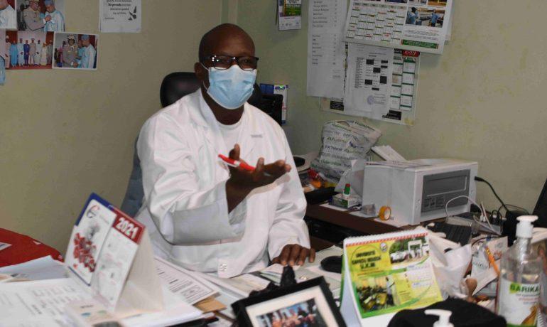 M.le surveillant général du CHU G.Toure : Babacar Diabate Sidiki